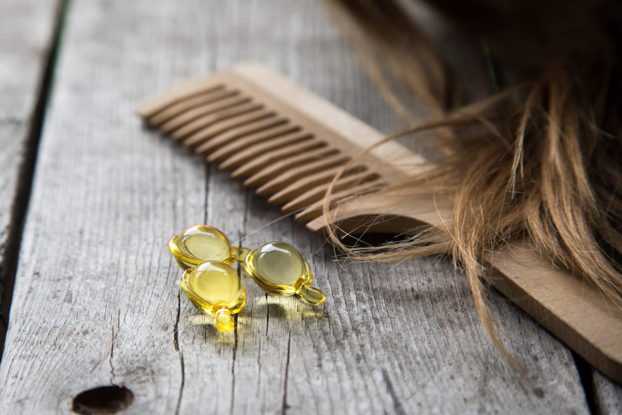 Hair nurishment supplements