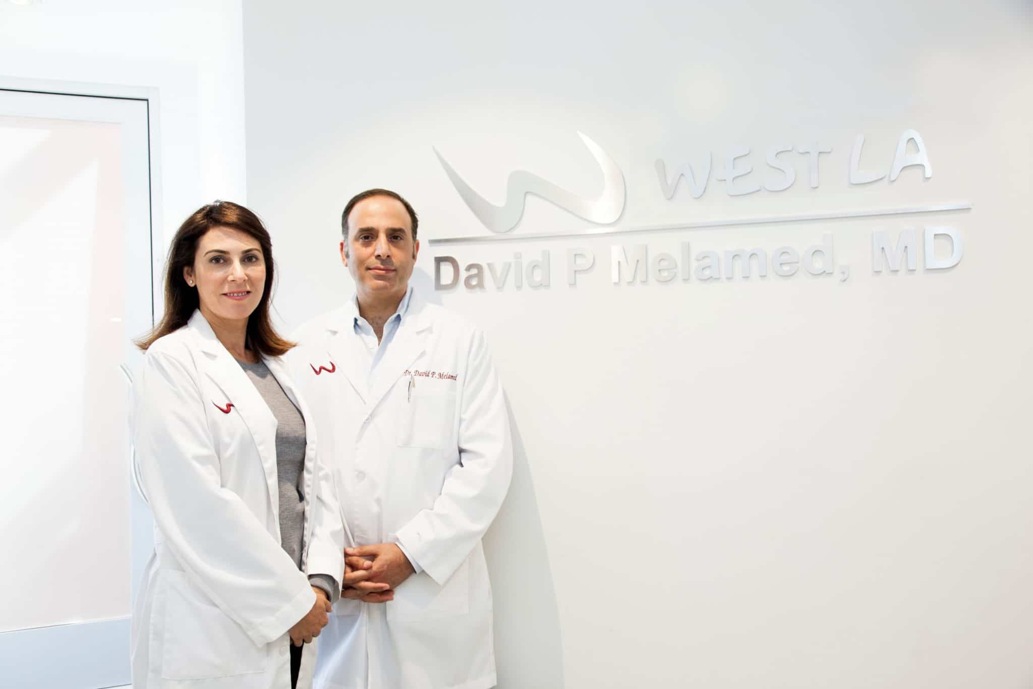 The West LA Hair Difference thanks to Dr. Melamed